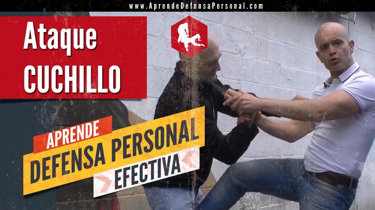 Defensa personal cuchillo